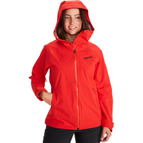 Marmot EVODry Clouds Rest Giacca Donna, victory red
